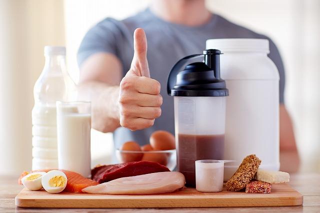タンパク質を摂ろう