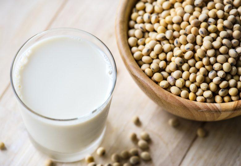 牛乳と大豆