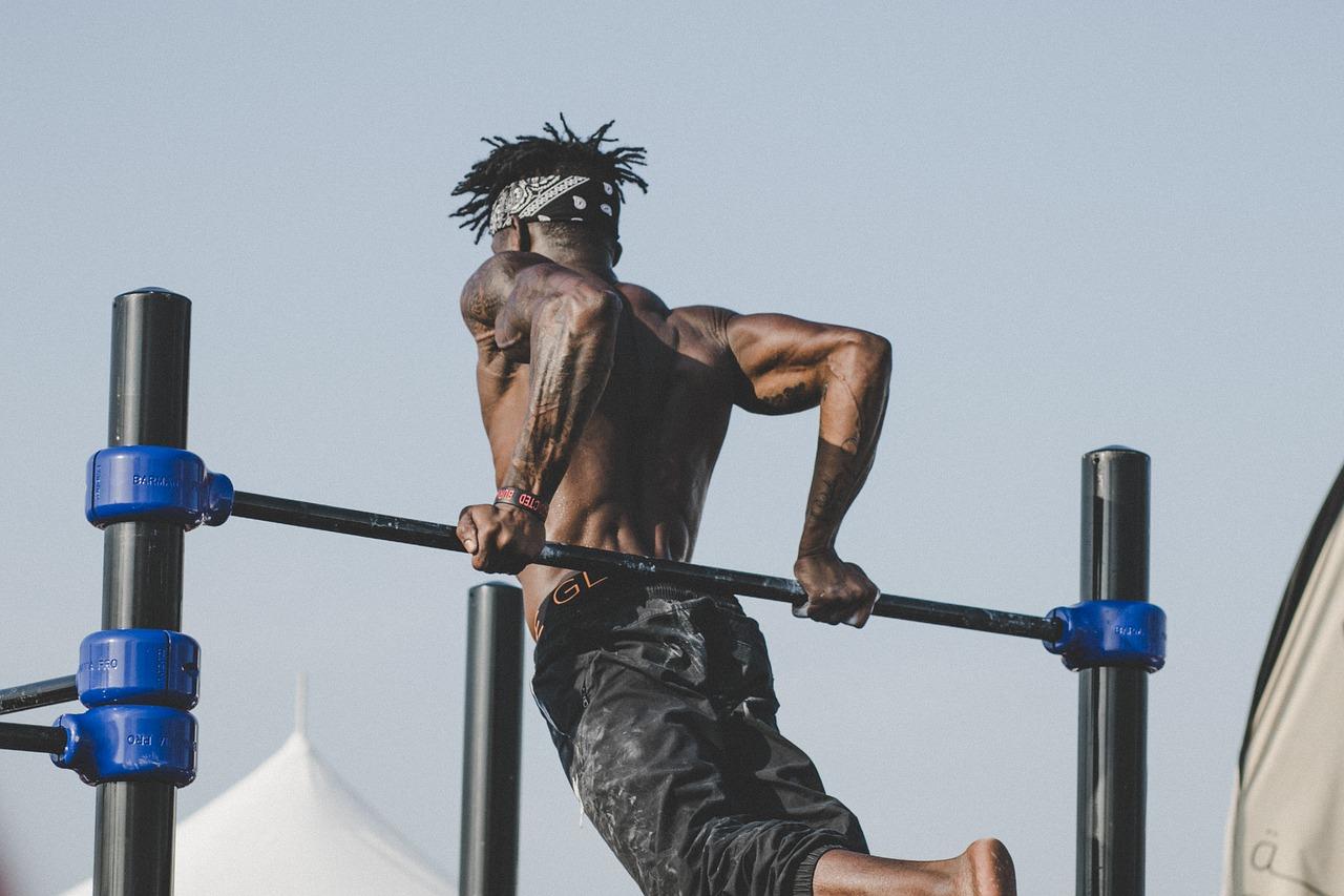 筋肉を意識する